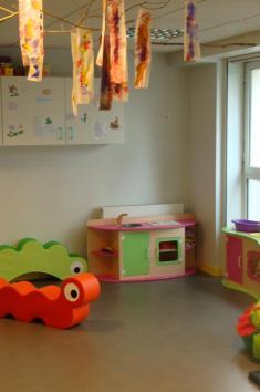 Salle de jeux - Nos Petits Pouces Nantes - Procé