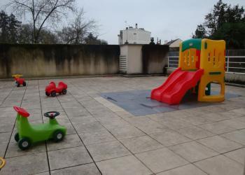 Espace extérieur - Nos Petits Pouces - Nantes