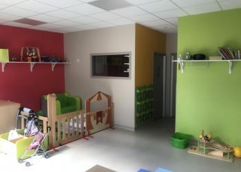 Salle de jeux - Nos Petits Pouces Nantes - Rue d'Alger